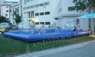 Надуваем басейн 7.00 x 9.00 x 0.60 m