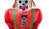 Надуваем костюм Кукла