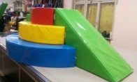 """Пързалка и стълбичка """"Торта"""" 3.15 x 2.00 x 0.90 m"""
