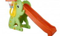 "Slide ""Elephant"" with Basket"