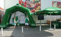 Тенис тренажор за сервис 5.40 x 3.60 x 3.00 m