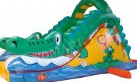 """Пързалка """"Крокодил"""" 2.50 x 5.00 x 3.00 m"""