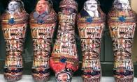 Надуваеми мумии 2.00 x 0.70 x 0.60 m