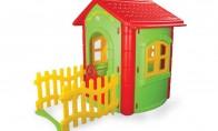 Детска къща с ограда 1.31 х 1.72 х 1.12 m