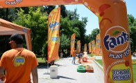 Арка за Fanta Play Tour 6.00 х 4.00 х 0.80 м