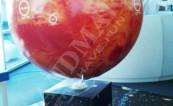 Надуваема топка реплика на Марс