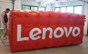 Надуваем билборд за LENOVO