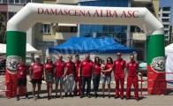 Арка за автомобилен спортен клуб Дамасцена-Алба